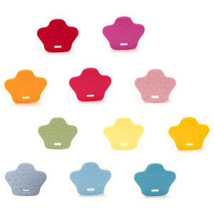 Durable Bijtring Dierenpoot (kies je kleur)