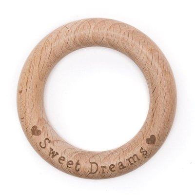 "Durable Bijtring hout ""Sweet Dreams"""