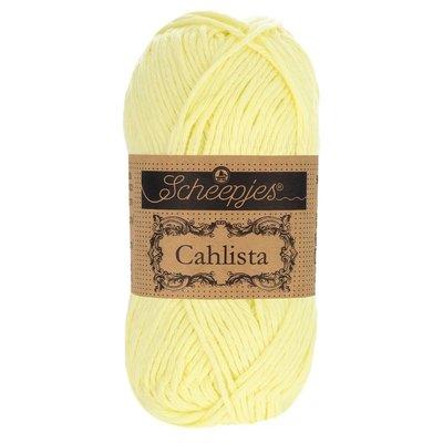 Scheepjes Cahlista Lemon Chiffon (100)