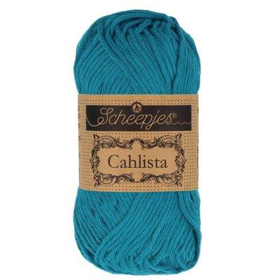 Scheepjes Cahlista Petrol Blue (400)