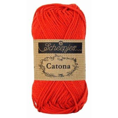 Scheepjes Catona 10 gram Hot Red (115)