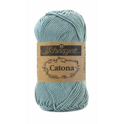 Scheepjes Catona 10 gram Silver Blue (528)