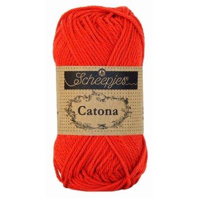 Scheepjes Catona 25 gram Hot Red (115)