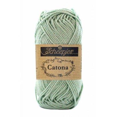 Scheepjes Catona 25 gram Silver Green (402)