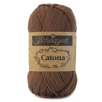 Scheepjes Catona 50 Chocolate (507)