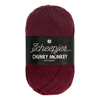 Scheepjes Chunky Monkey Maroon (1035)