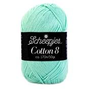 Scheepjes Cotton 8 mintgroen (663)