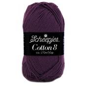 Scheepjes Cotton 8 paars (661)
