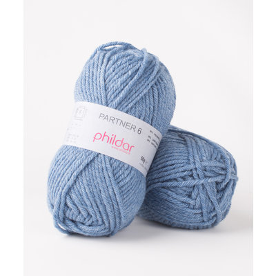 Phildar Partner 6 Naturel Jeans Chine (2297)