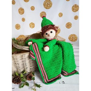 Garenpakket Knuffeldeken Kerst Elf