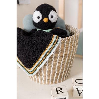 Garenpakket Knuffeldeken  Pinguin - Woolytoons