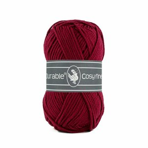 Durable Cosy Fine Bordeaux (222)