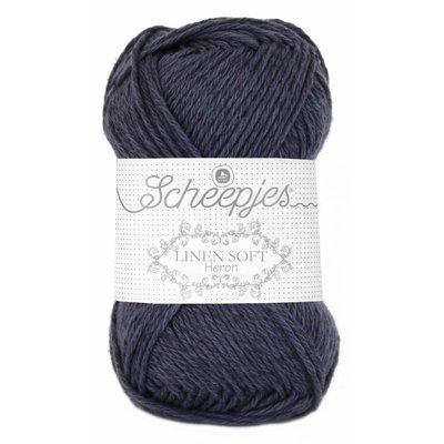 Scheepjes Linen Soft donkergrijs (617)