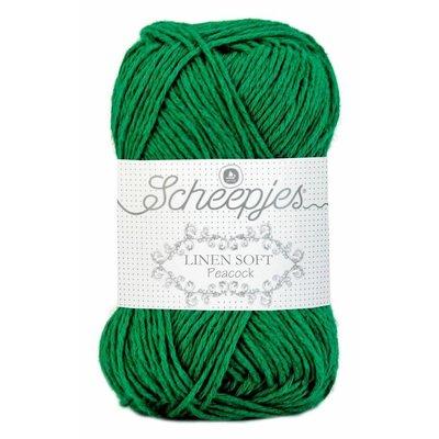 Scheepjes Linen Soft donkergroen (605)
