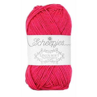 Scheepjes Linen Soft fuchsia (626)