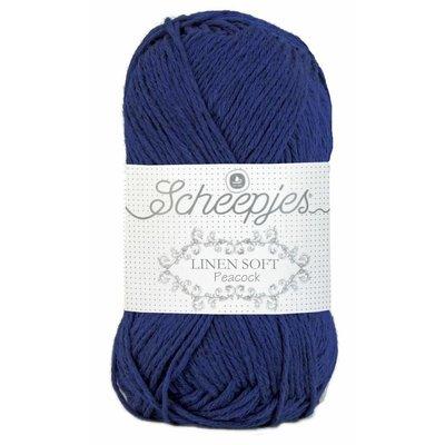 Scheepjes Linen Soft kobaltblauw (611)