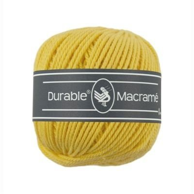 Durable Macramé Bright Yellow (2180)