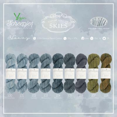 Scheepjes Skies Heavy Colour Pack