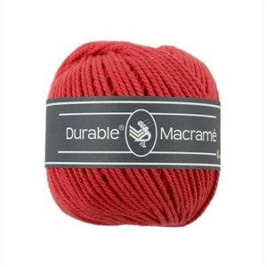 Durable Macramé Red (316)
