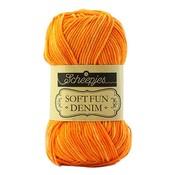 Scheepjes Softfun denim oranje  (519)