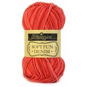 Scheepjes Softfun denim rood (505)