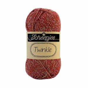 Scheepjes Twinkle bruin/rood (906)