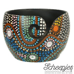 Scheepjes Yarn Bowl Aboriginal