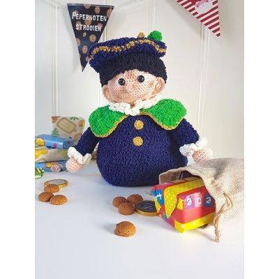 Garenpakket Pop-up Zwarte Piet