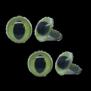 Veiligheidsogen poezen groen