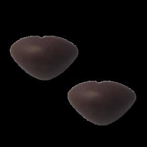Veiligheidsneus driehoek soft bruin