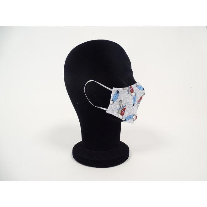 Kinder mondmasker toekan (Wasbaar)