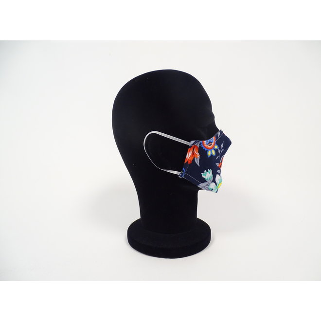 Kinder mondmasker lelies (Wasbaar)