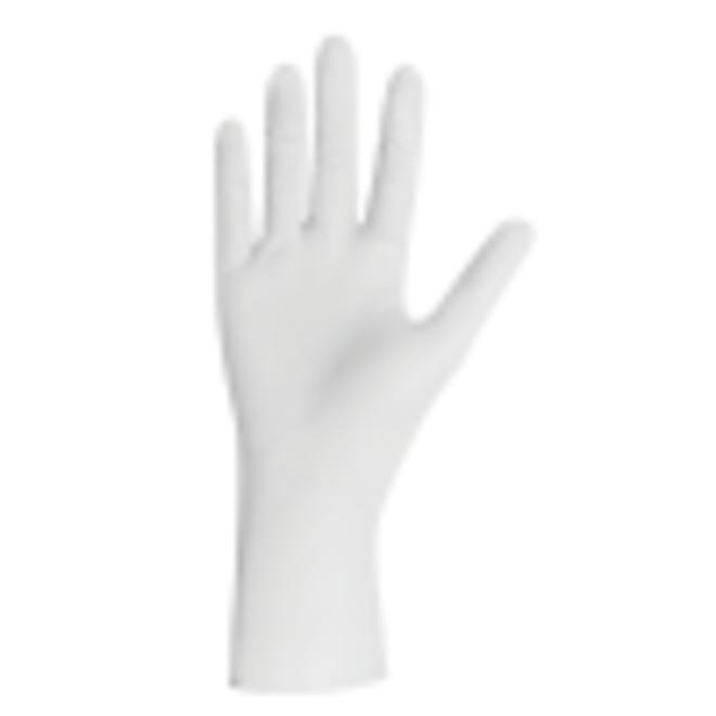 Handschoenen wit, pearl nitril, poedervrij, XS, S, M, L, XL