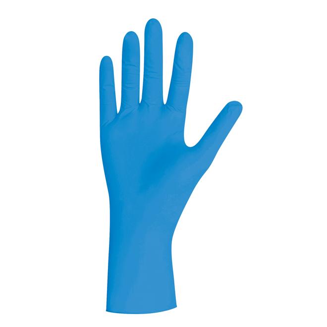 Handschoenen blauw, pearl nitril, poedervrij, XS, S, M, L, XL