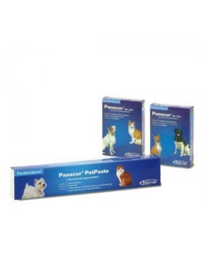 panacur giardia kutyák
