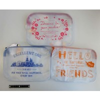 CLEAR POUCH L