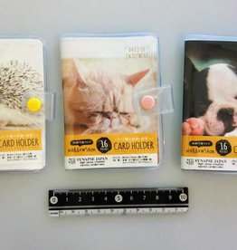 Pika Pika Japan Card holder animal photo 16p