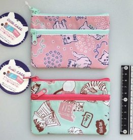 Pika Pika Japan Daily cat W fastener coin case