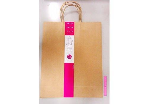 Kraft paper bag LL 2p