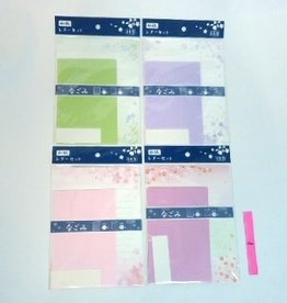 Pika Pika Japan Japanese crape paper letter set 4prs