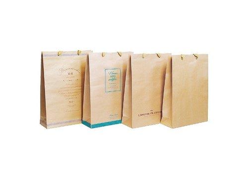 Craft paper bag LL vertical