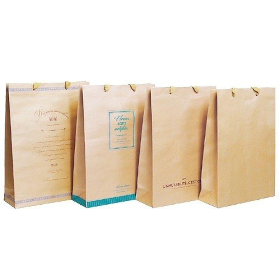 Craft paper bag LL vertical-1