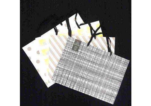 Paper bag 3L horizontal white