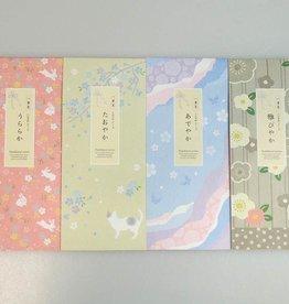 Pika Pika Japan Fumibiyori Japanese letter set 40s