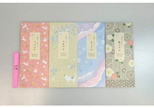 Stationery paper, rabbit/cat/butterfly/flower, 40sheets