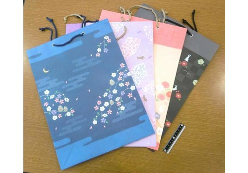 JAPANESE STYLE PATTERN PAPER BAG LL