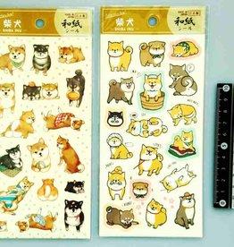 Pika Pika Japan Collection sticker Shiba-inu