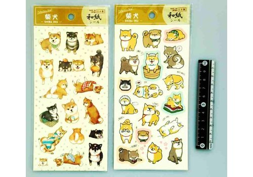 Collection sticker Shiba-inu