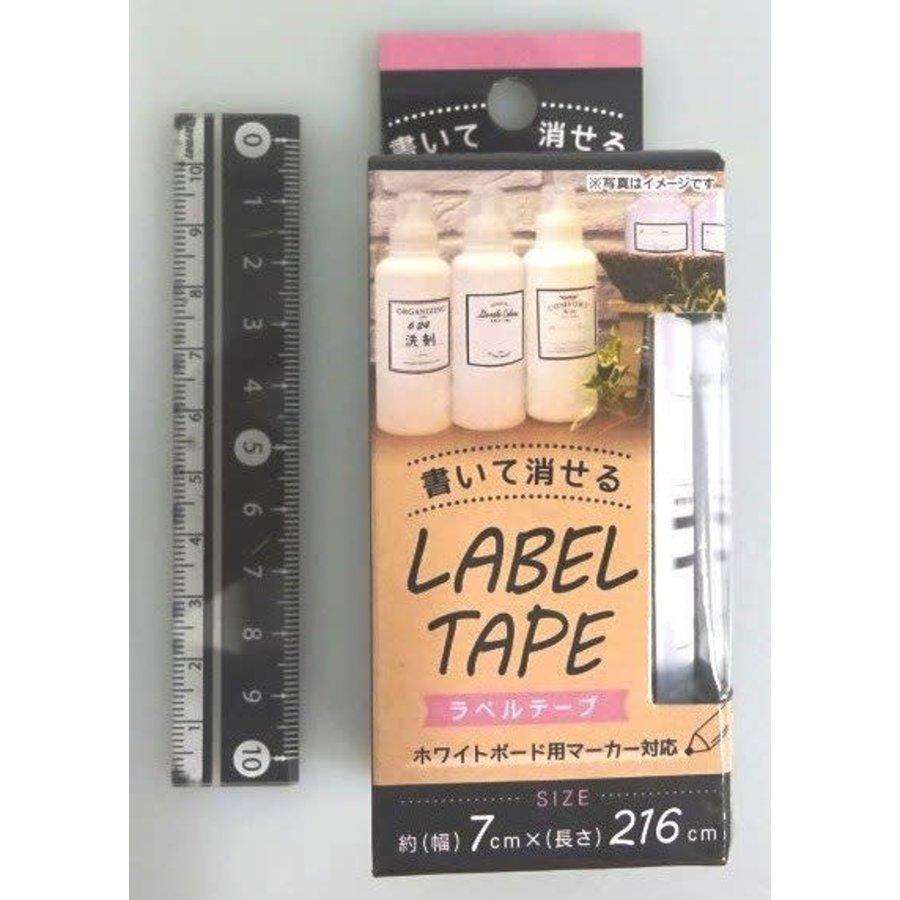 Erasable label tape elegant-1