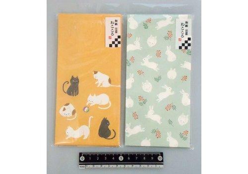"""Wakokoro XL size paper envelope """"miyabi"""" graceful 6p"""